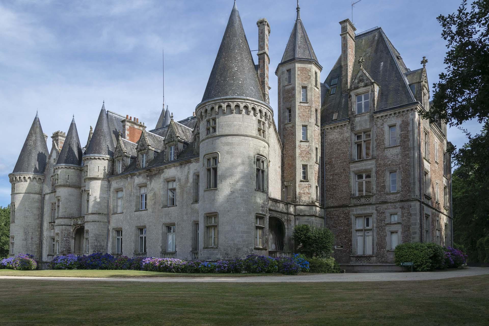 Chateau de Trédion Morbihan Françoise Bautz photographe