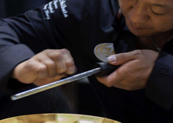 Takeshi Shibata Fondant au chocolat salon du chocolat Paris