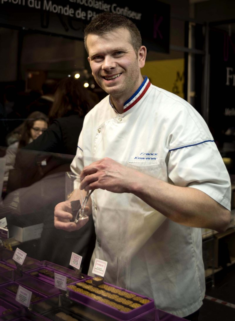 Franck Kesteaner chocolatier confiseur Salon du Chocolat Paris