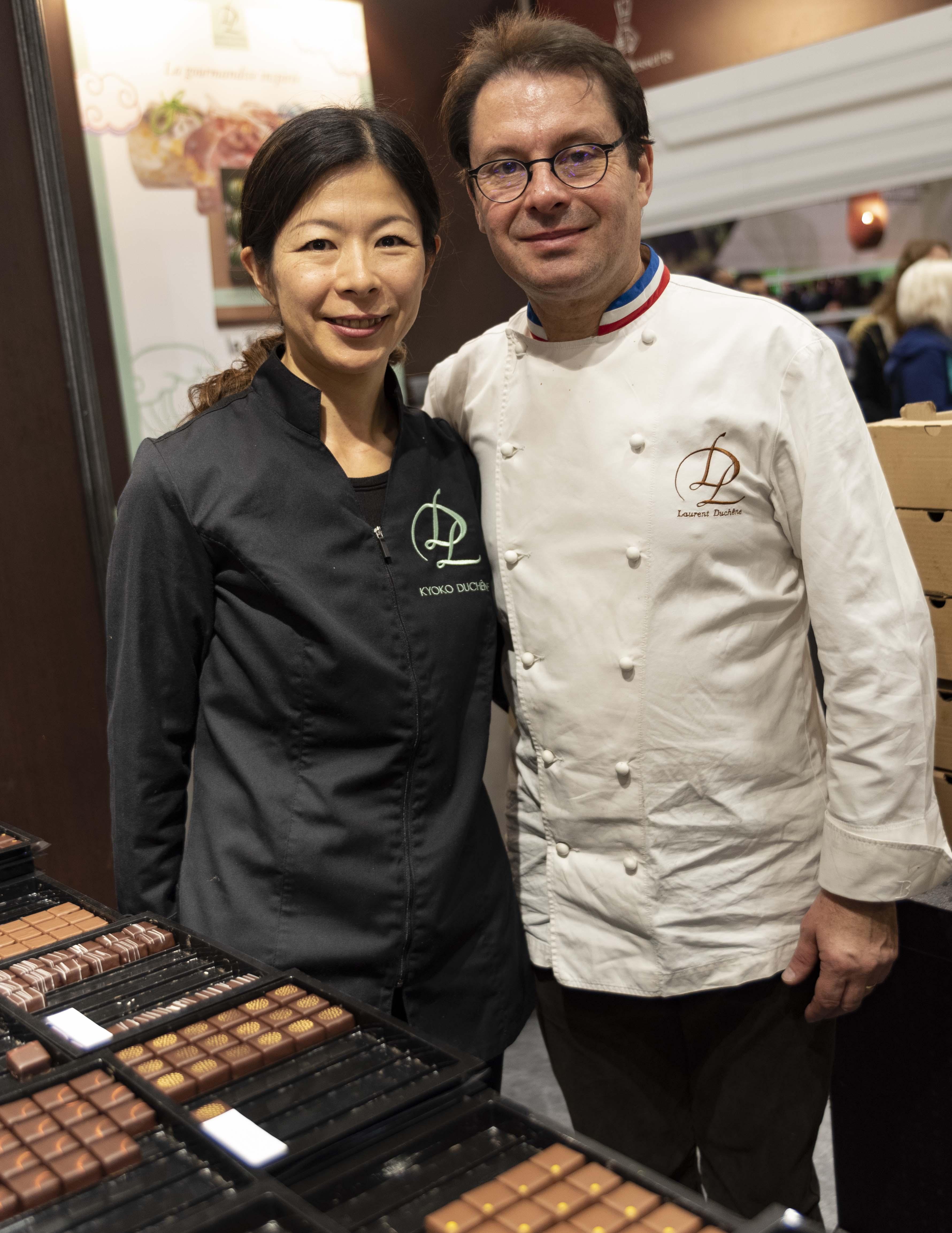 Laurent-Kyoko-Duchene-Salon-Chocolat-Paris