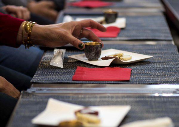 Salon Chocolat paris japonissime degustation de sake et chocolat