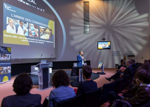 L'Oréal soirée apprentis chercheurs Françoise Bautz photographe